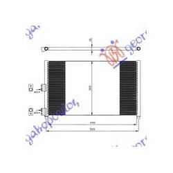 ΨΥΓΕΙΟ A-C 1.6-1.9 JTD  50x31