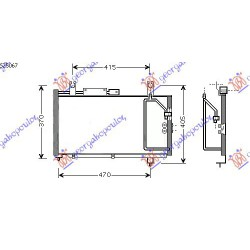 ΨΥΓΕΙΟ A-C BENZ  52.5x29x19