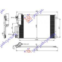 ΨΥΓΕΙΟ A-C 1.5 DCi  61x39