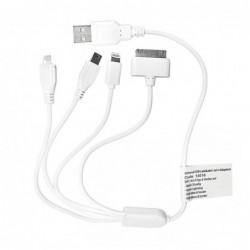 ΦΟΡΤΙΣΤΗΣ USB 4-ΠΛΟ ΚΑΛΩΔΙΟ