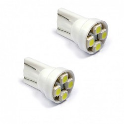 ΛΑΜΠΕΣ 4 LEDS T10 wedge 12V