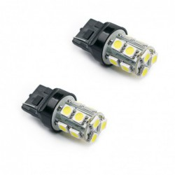 ΛΑΜΠΕΣ 13 LEDS T20 wedge 12V