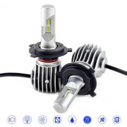 ΣΥΣΤΗΜΑ LED D6 H4 CANBUS & EMC